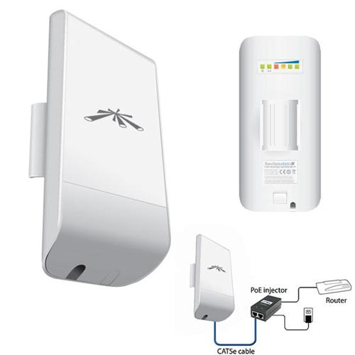 Ubiquiti NanoStation Loco M5 5GHz - 5GHz High Power Wireless Outdoor - LocoM5