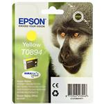 Epson T0894 YELLOW Cartuccia ORIGINALE C13T0894401 - DATA SCADUTA