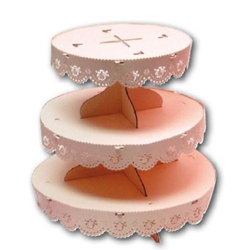 Prodotto: QDC381 - Dolcemania Alzatina Porta cupcakes 3 ...
