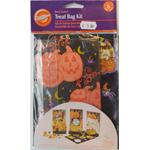 Wilton SACCHETTI RIGIDI C/STICKERS HALLOWEEN DECORA