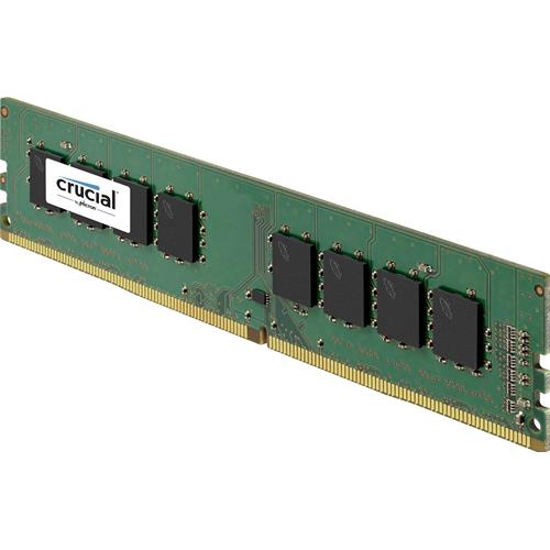 Crucial 4GB DDR4 2400Mhz PC4-19200 / UDIMM 240pin / CL17 - Memoria RAM - CT4G4DFS824A