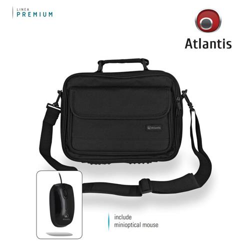 "Atlantis Borsa per notebook 16"" + miniOptical Mouse"