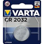 Bottone Litio 2032 3V 230mAh 1Pz Varta (Blister 1Pz.)