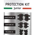 SMART Protection KIT JUNIOR SM99-KIT GINOCCHIERE, POLSIERE E GOMITIERE - KIT Protezione monopattini, overboard, etc..