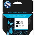 HP N9K06AE Inkjet 304 NERO  / getto d'inchiostro Cartuccia originale