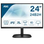 "Monitor AOC 23,8"" LED IPS 24B2XH 1920x1080 7ms 1000:1 VGA HDMI VESA Blk"